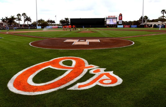 Mlb Spring Training Tampa Bay Rays At Baltimore Orioles
