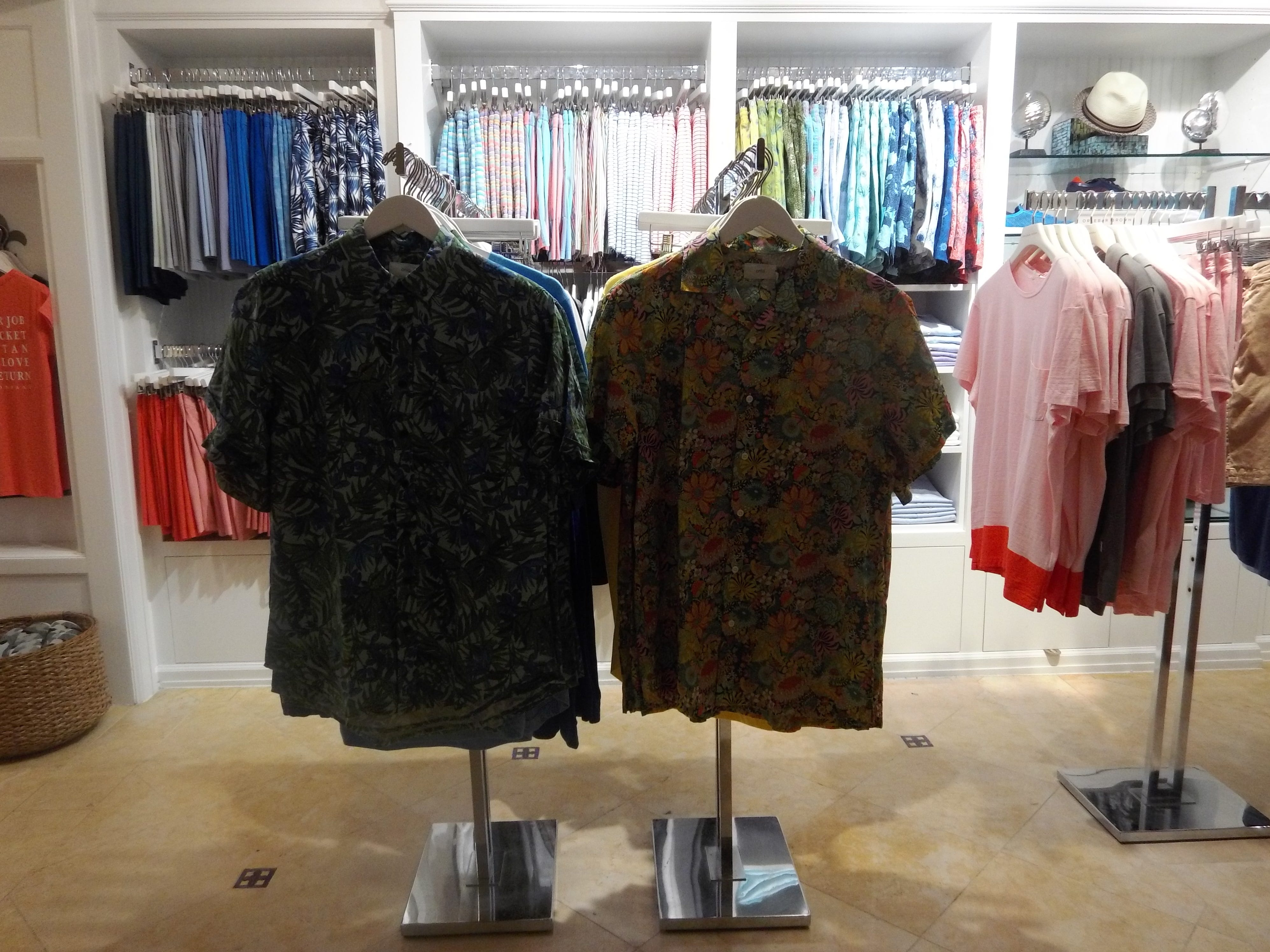 Tropical wear can be found at Mizner's Resort Shop.