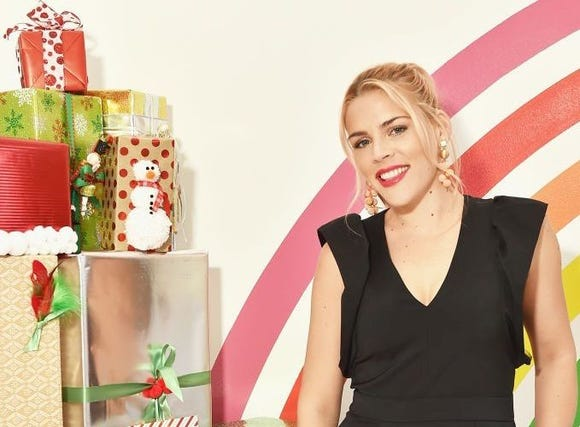Busy Philipps says people should focus their lens on seeing their loved ones during the holidays and less on the little hassles of the season.