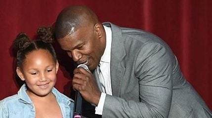 Jamie Foxx is the proud dad of a football-playing daughter: 'She's killing it'
