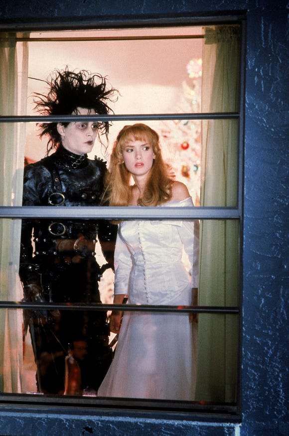 Johnny Depp played the iconic character with scissors for hands in the 1990 Tim Burton movie.