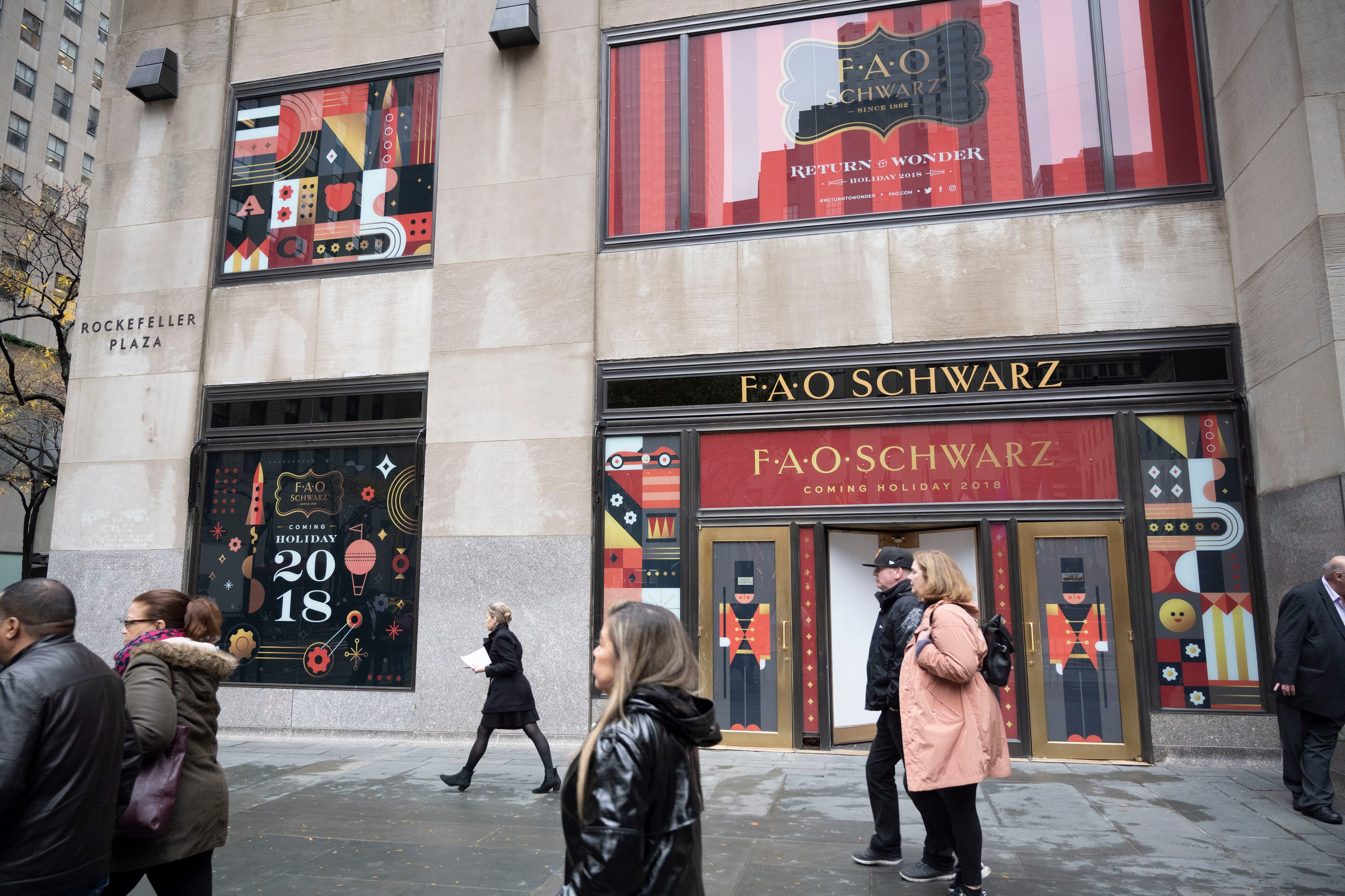FAO Schwarz is ready for its close up: The iconic retailer opens new flagship in Manhattan