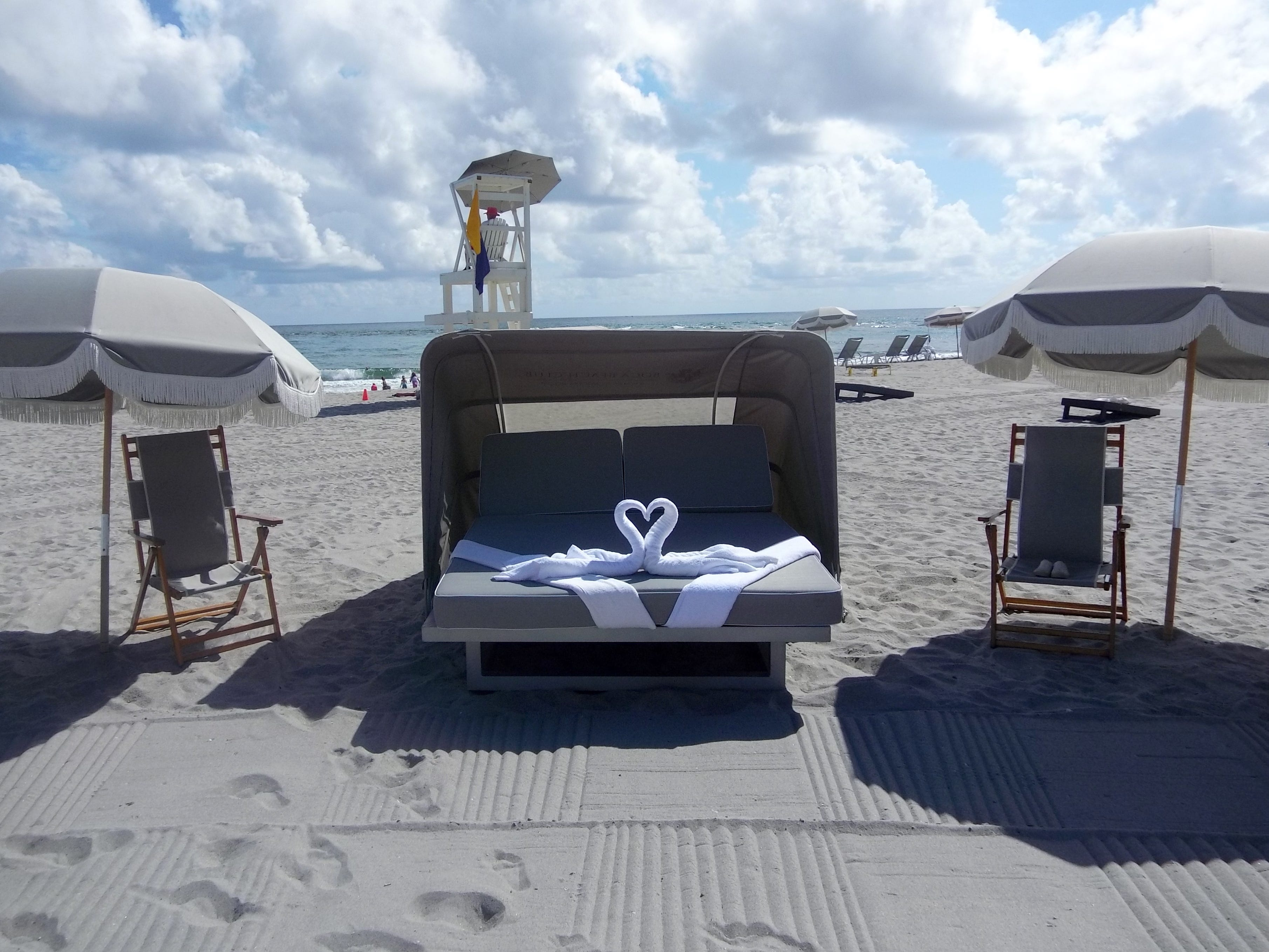 A day at the beach at Boca Beach Club and Boca Raton Resort & Club.