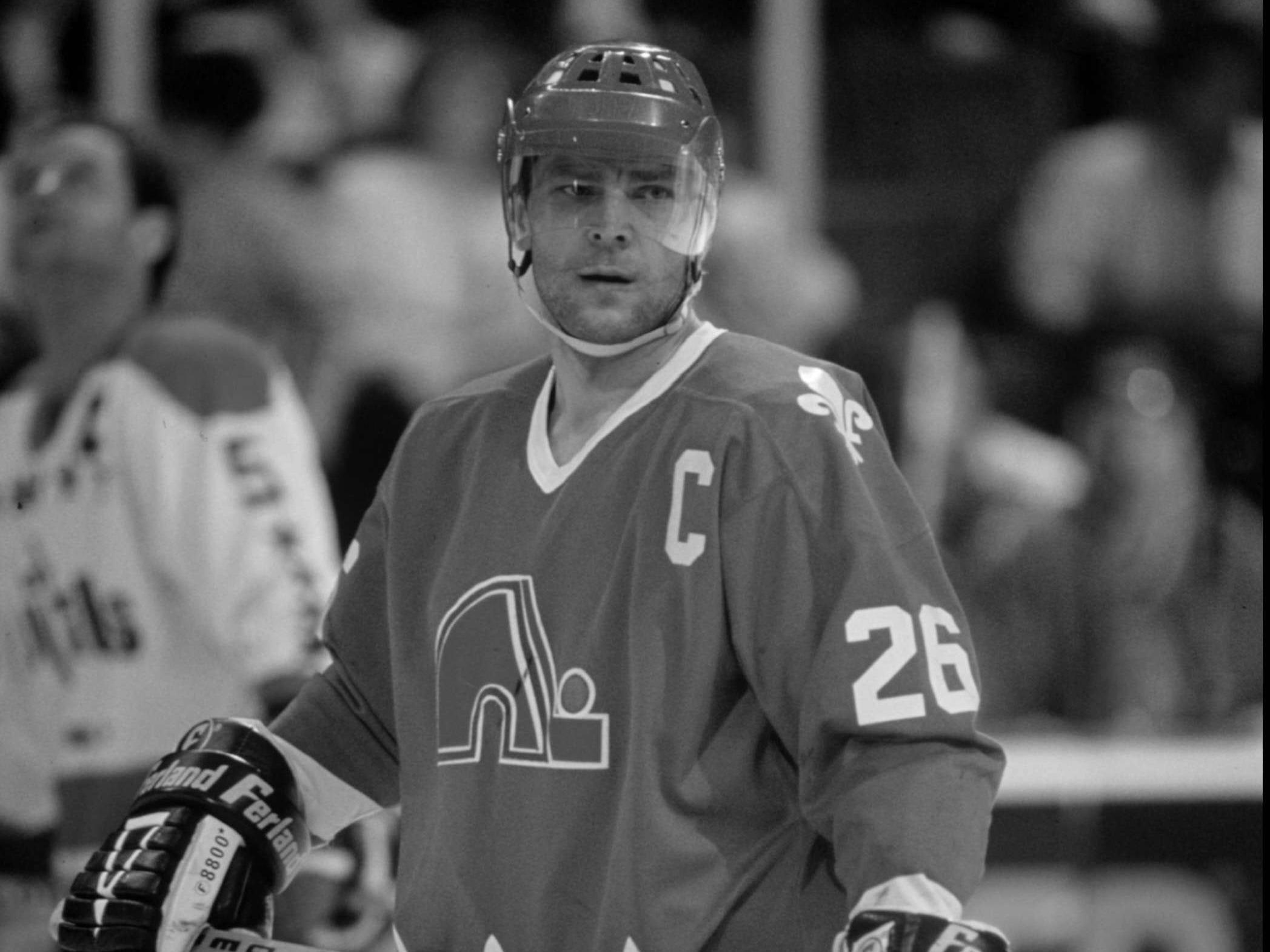 26. Peter Stastny (1980-95). Also: Martin St. Louis, Patrik Elias