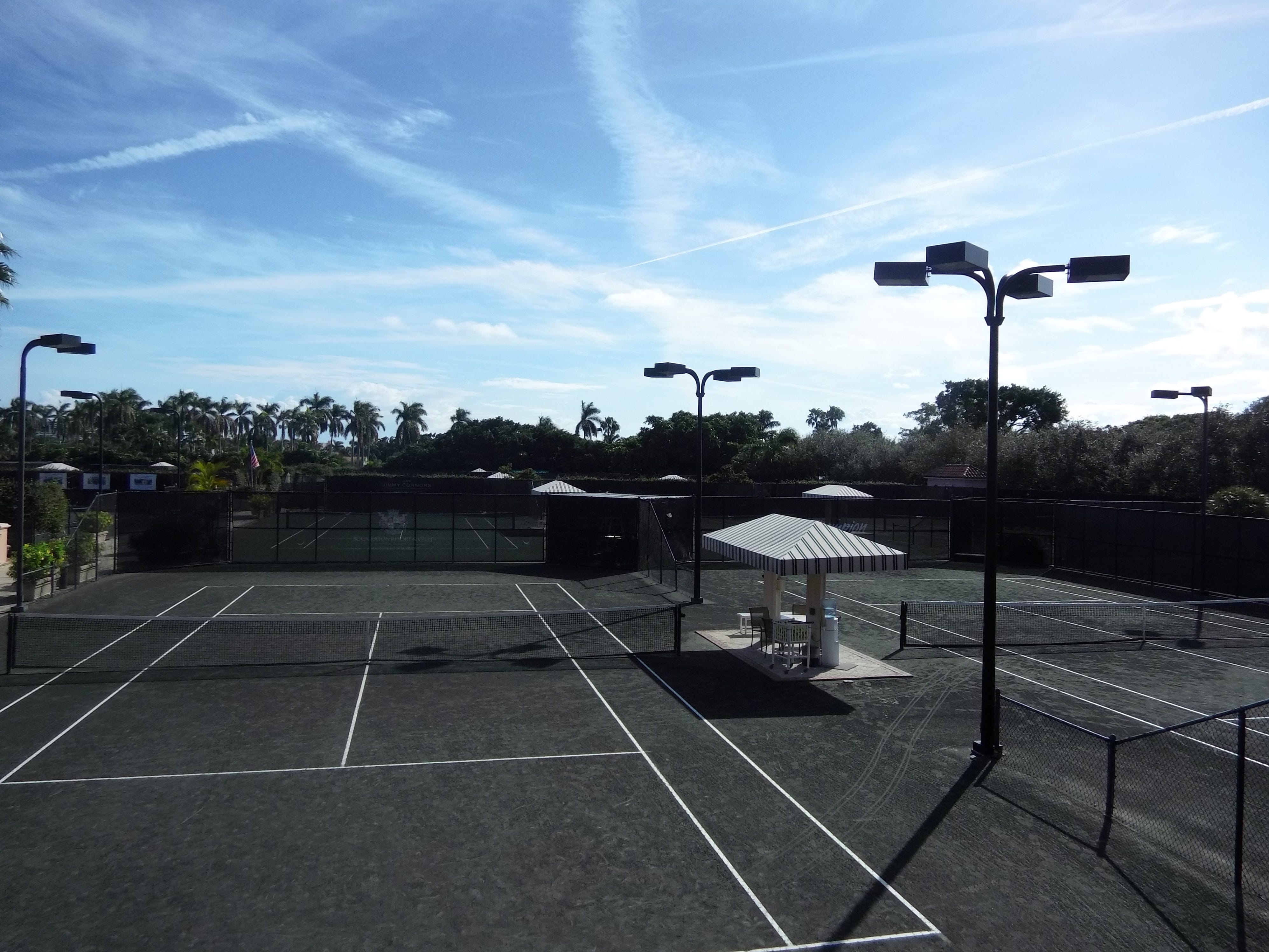 Thirty tennis courts are found at Boca Raton Resort & Club.