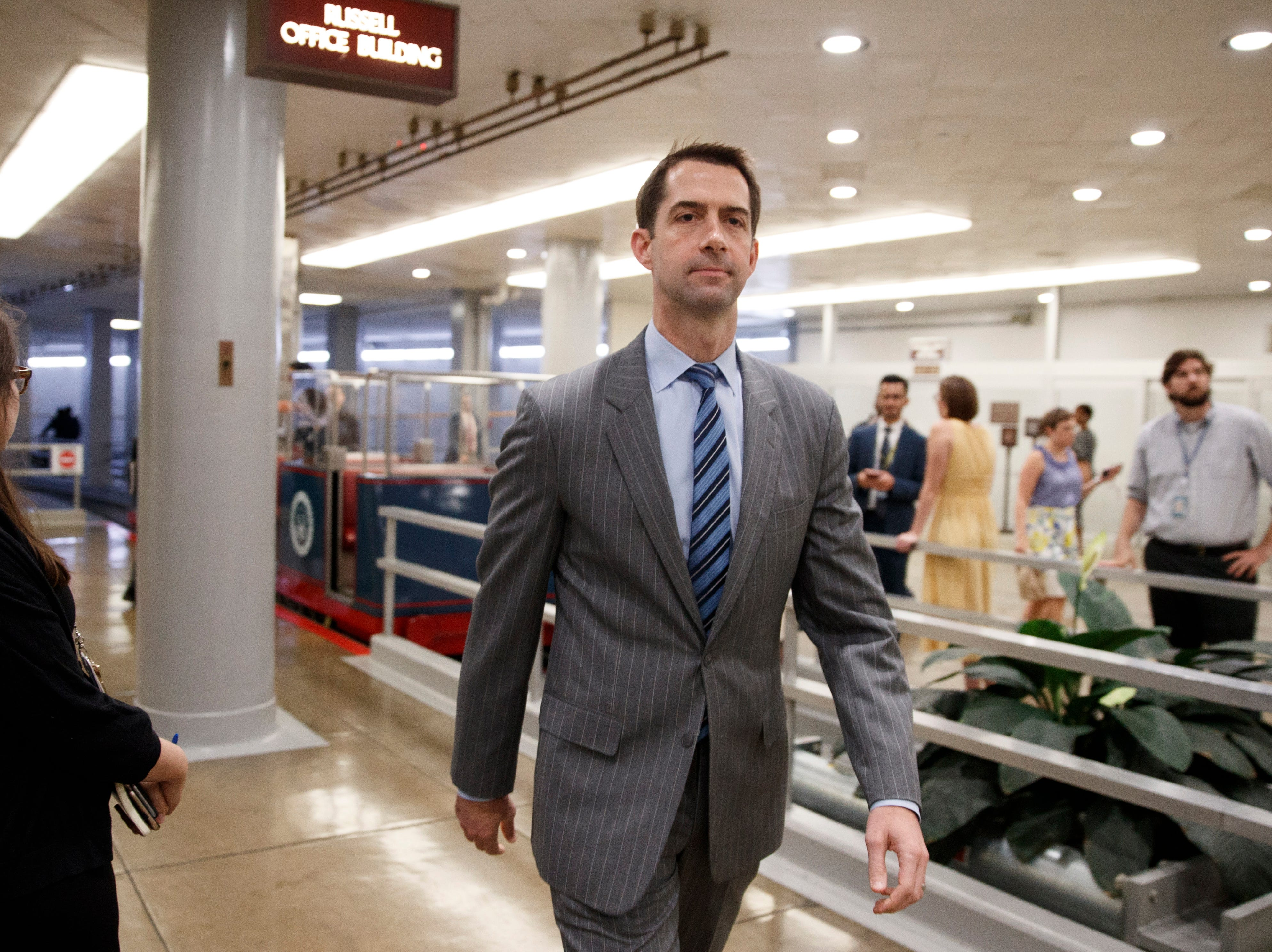 Lame-duck Congress' rush for criminal justice reform plan will hurt, not help: Tom Cotton