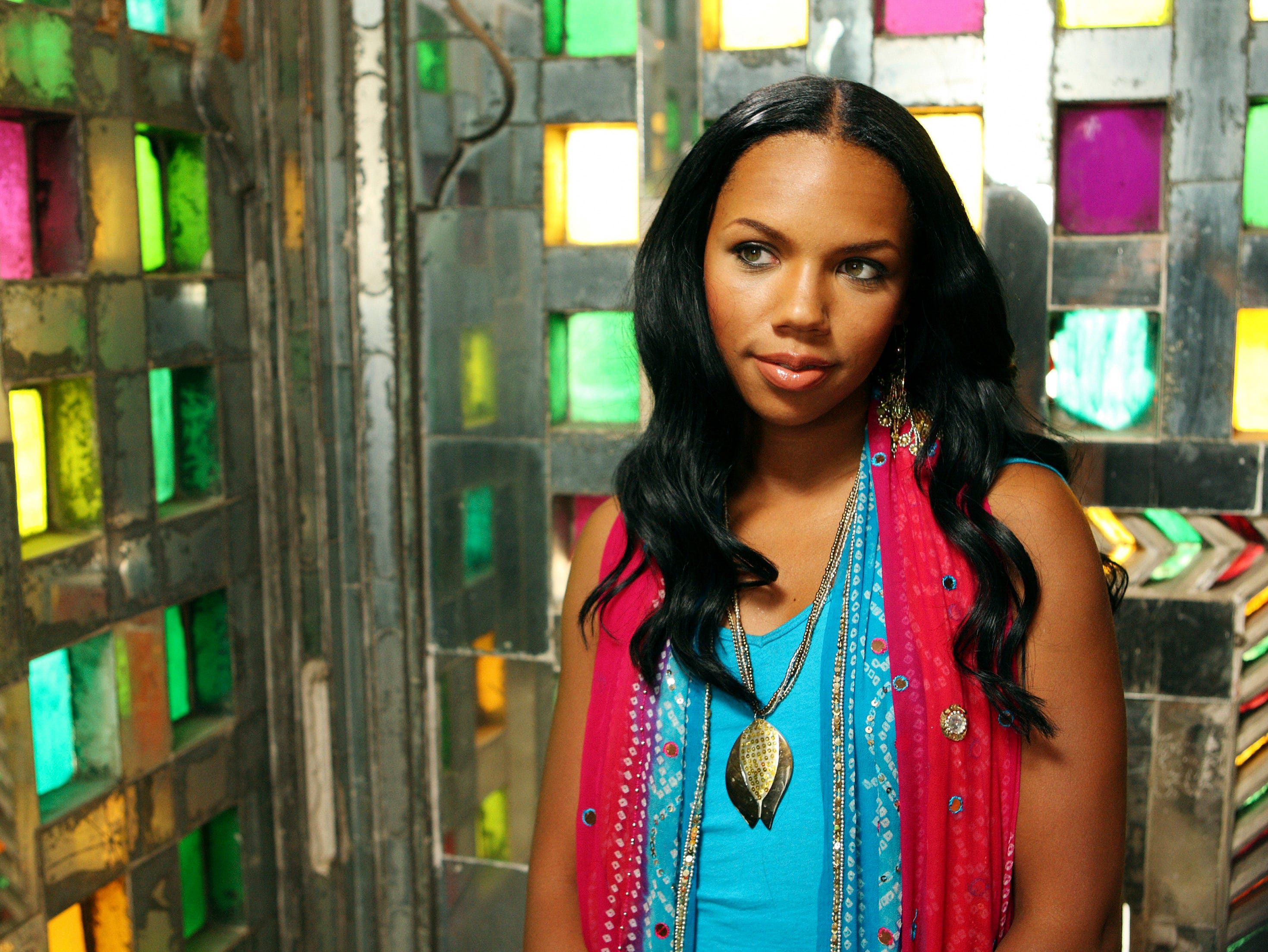 "KIELY WILLIAMS stars in THE CHEETAH GIRLS ONE WORLD - The music-driven ""The Cheetah Girls One World,"" filmed in Mumbai and Udaipur, India, stars Adrienne Bailon, Kiely Williams and Sabrina Bryan and continues the story of best friends Chanel, Aqua and Dorinda as they pursue their dream to become recording artists and embark on their biggest adventure yet – a role in a Bollywood movie. But when they arrive in India, the trio is surprised to learn the producer only wants one Cheetah Girl to star in the movie. ""The Cheetah Girls One World"" premieres FRIDAY, AUGUST 22 (8:00 p.m., ET/PT) on Disney Channel.   --- DATE TAKEN: rec'd 08/08  By Craig Sjodin   Disney Channel        HO      - handout ORG XMIT: ZX68900"