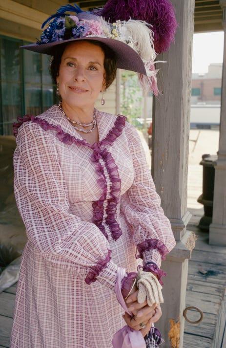 5792e7e1b5 Little House on the Prairie  star Katherine MacGregor dies at 93