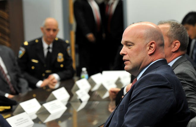 Acting Attorney General Matthew Whitaker in Des Moines, Iowa, on Nov. 14, 2018.