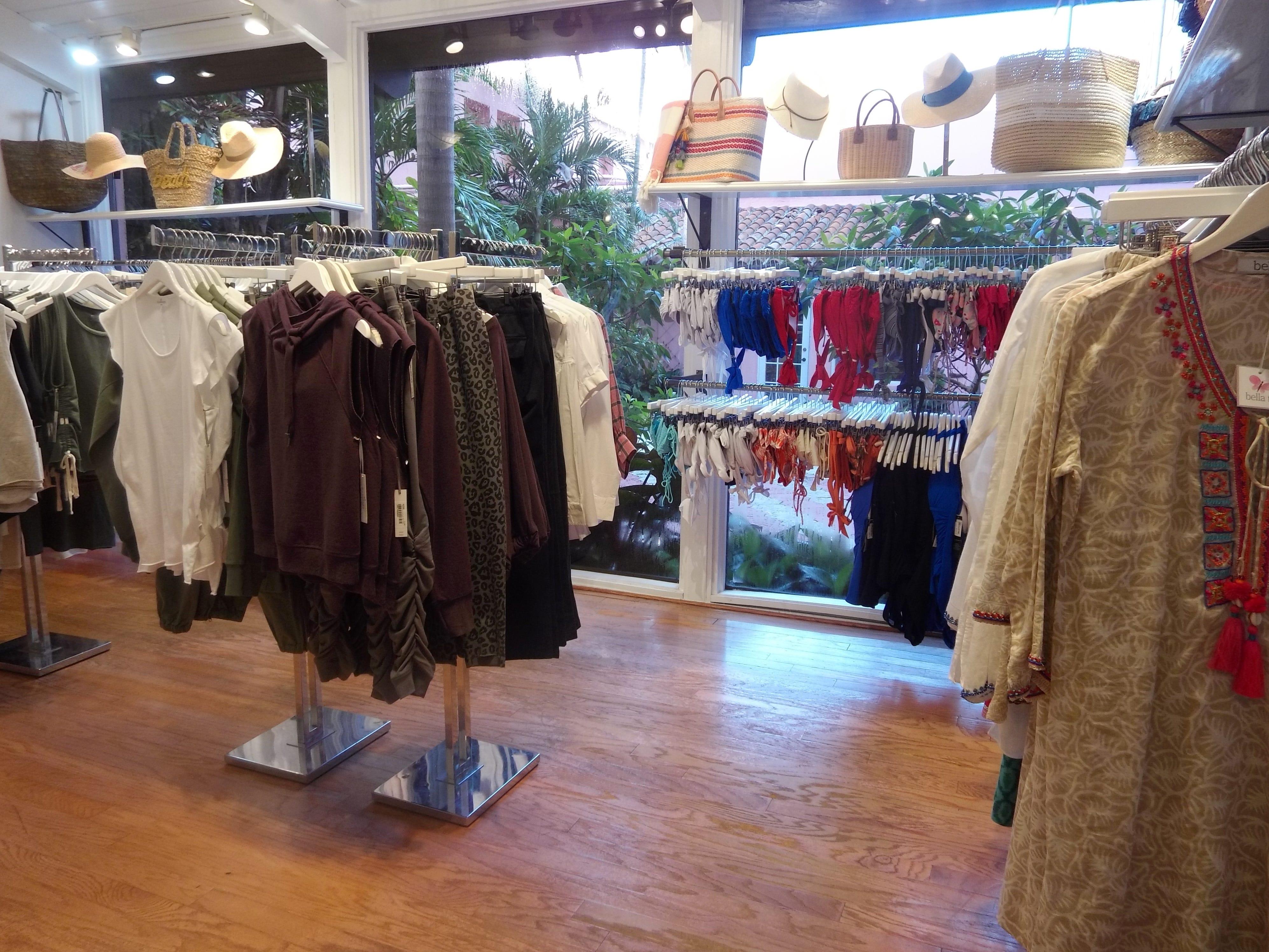 More warm-weather wear at Mizner's Resort Shop.