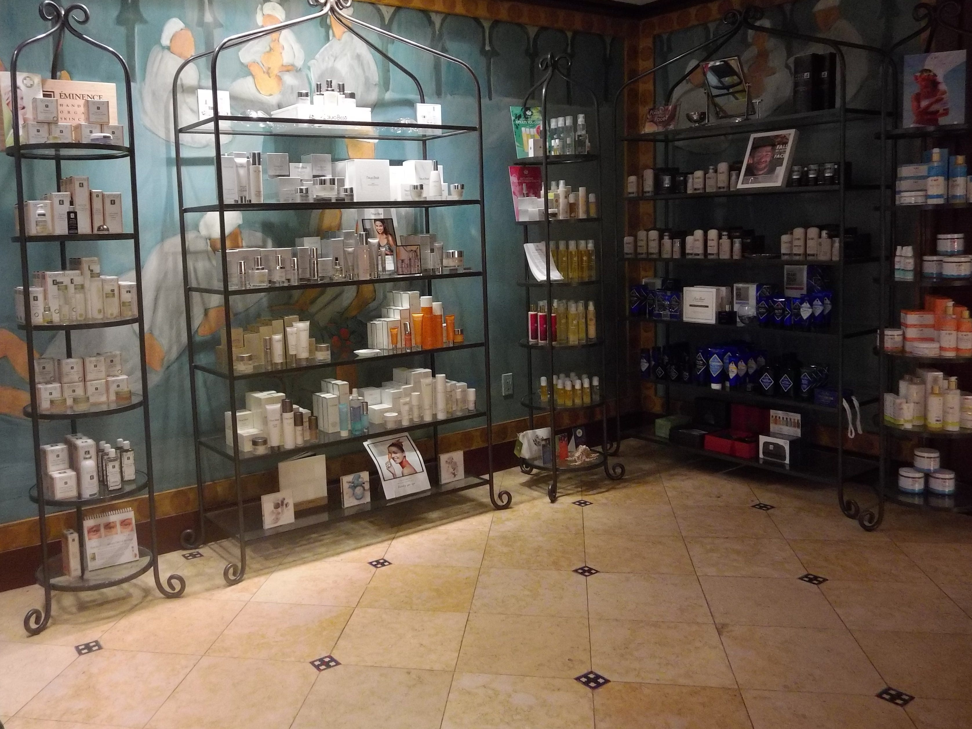 Scents for days at the Waldorf Astoria Spa Boutique at Boca Raton Resort & Club.