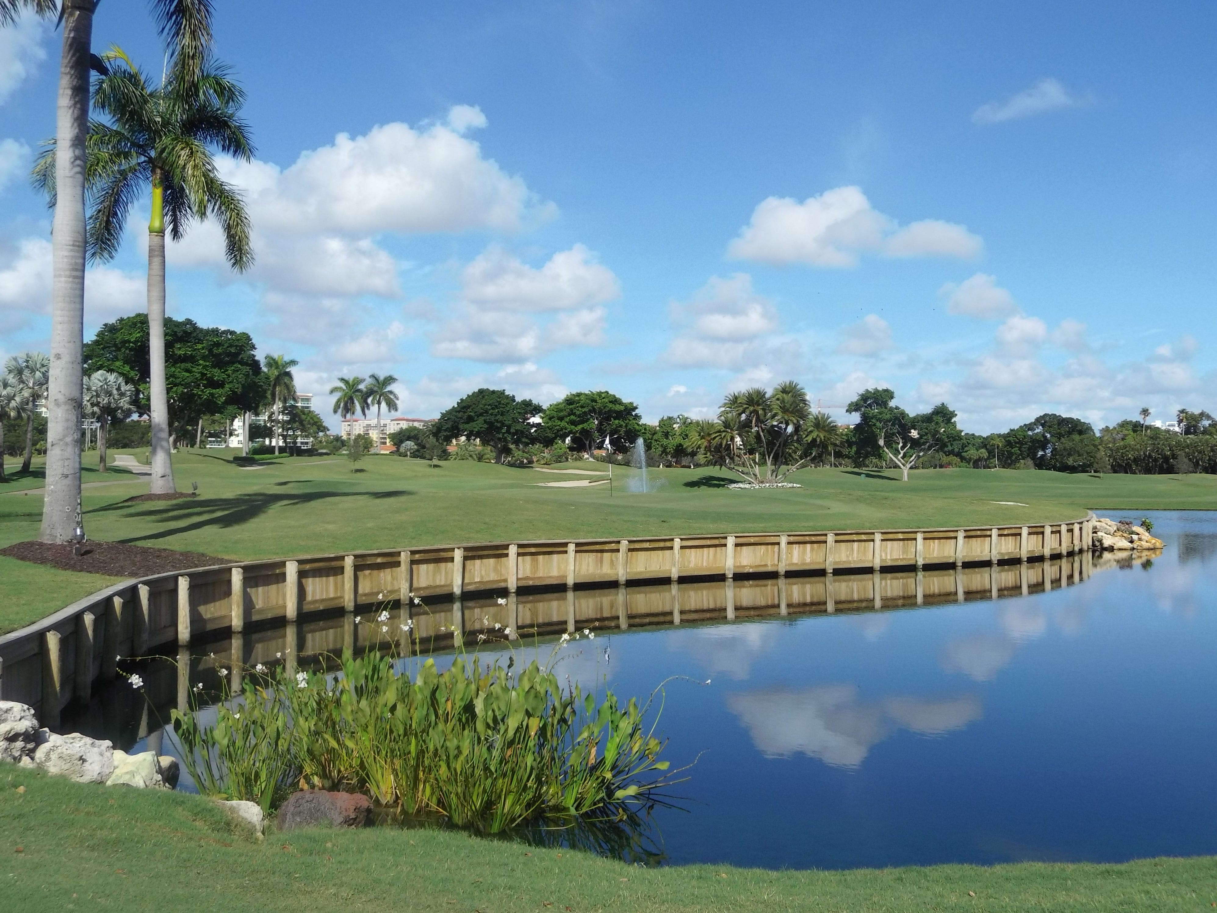 One of the 18-hole golf courses at Boca Raton Resort & Club.