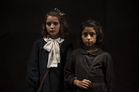 "Elisa Del Genio and Ludovica Nasti in ""My Brilliant Friend."""