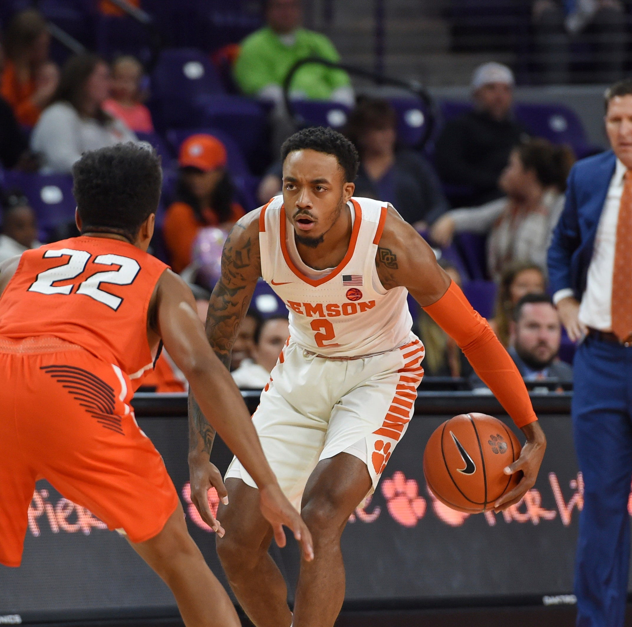 Clemson men's basketball struggling with 3-pointers on both ends of the court