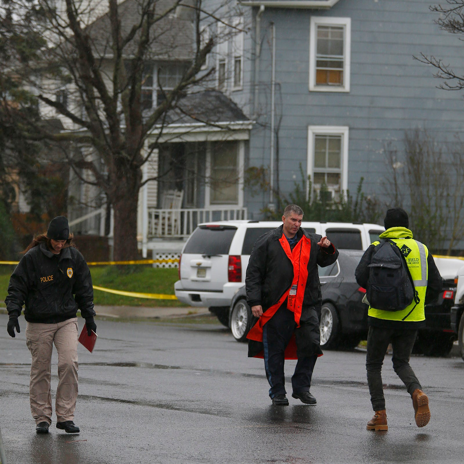 Long Branch shooting: Large police presence on Morris Avenue