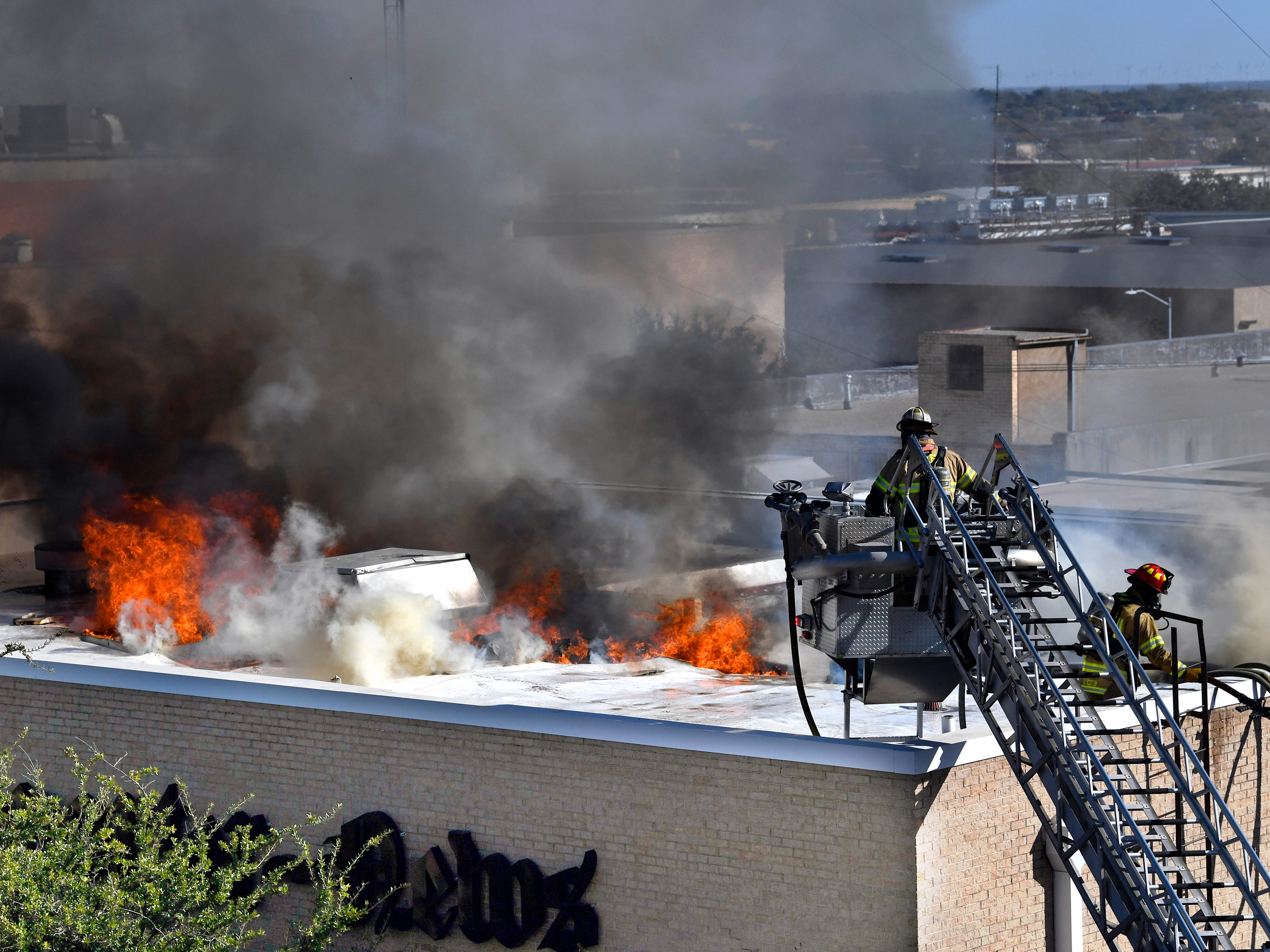 Abilene Reporter-News staff evacuated, building severely damaged by 2-alarm fire