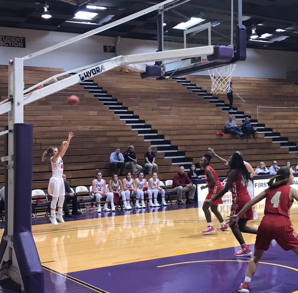 Jim Ned girls basketball embracing its role as David at Polk-Key City Classic
