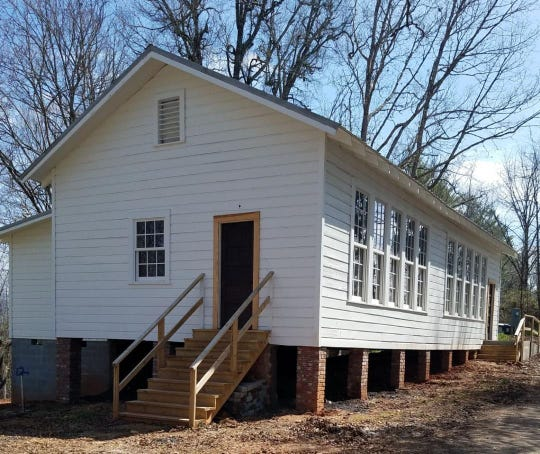 The Anderson Rosenwald school in 2018.
