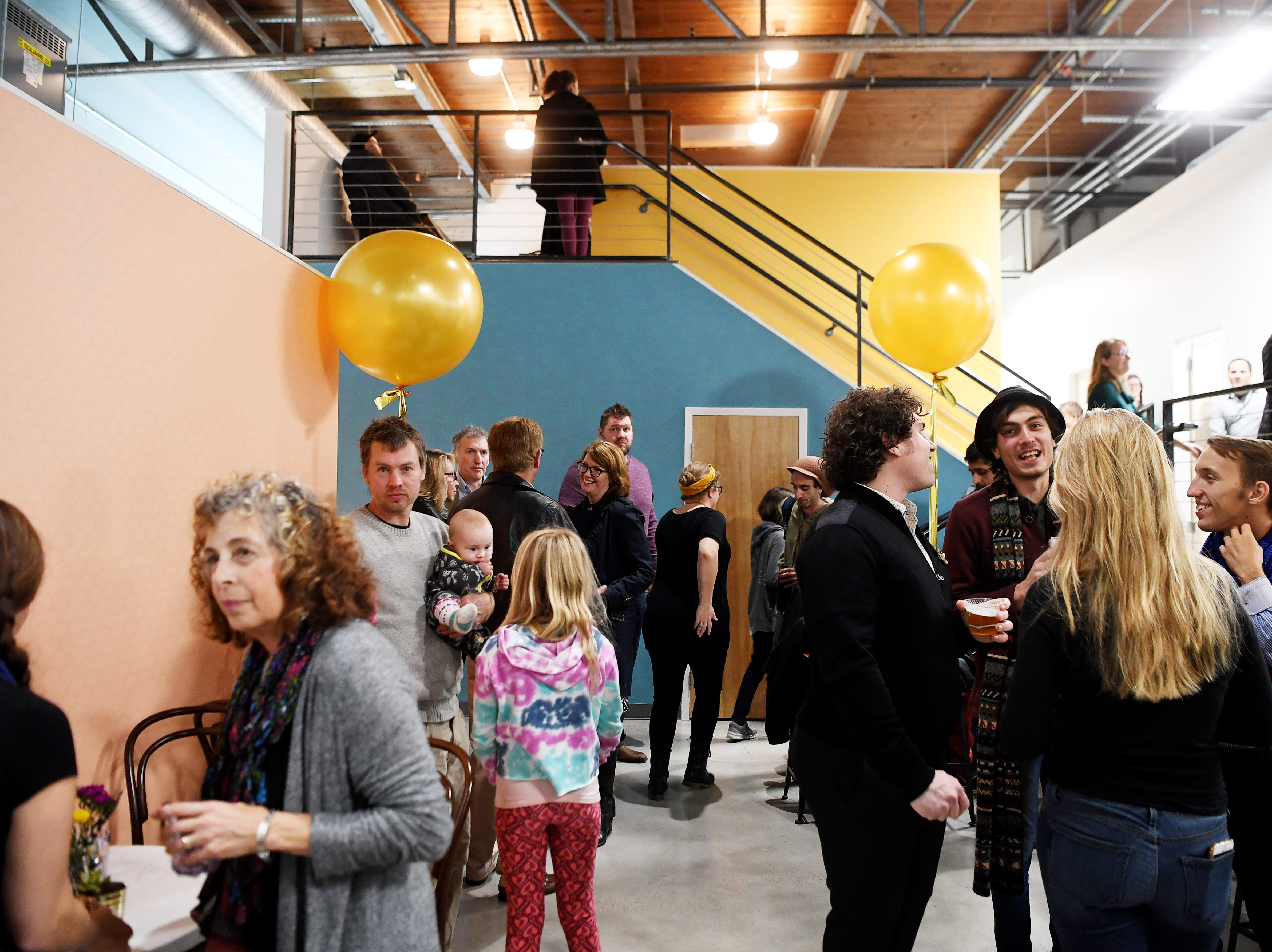 The French Broad Chocolate Factory hosted an opening party Nov. 14, 2018 after moving into RAMP Studios.