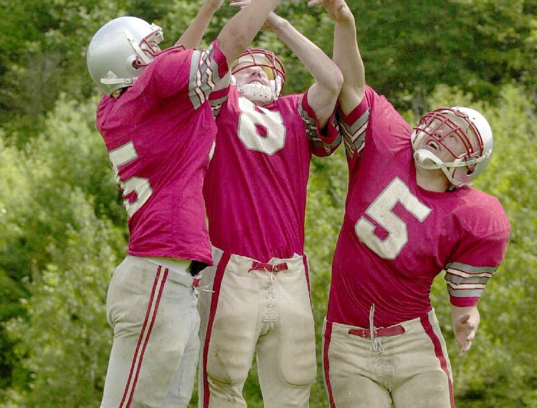 From 1999: (left) Jon Deuel, Mike Rozboril and Eric Brey