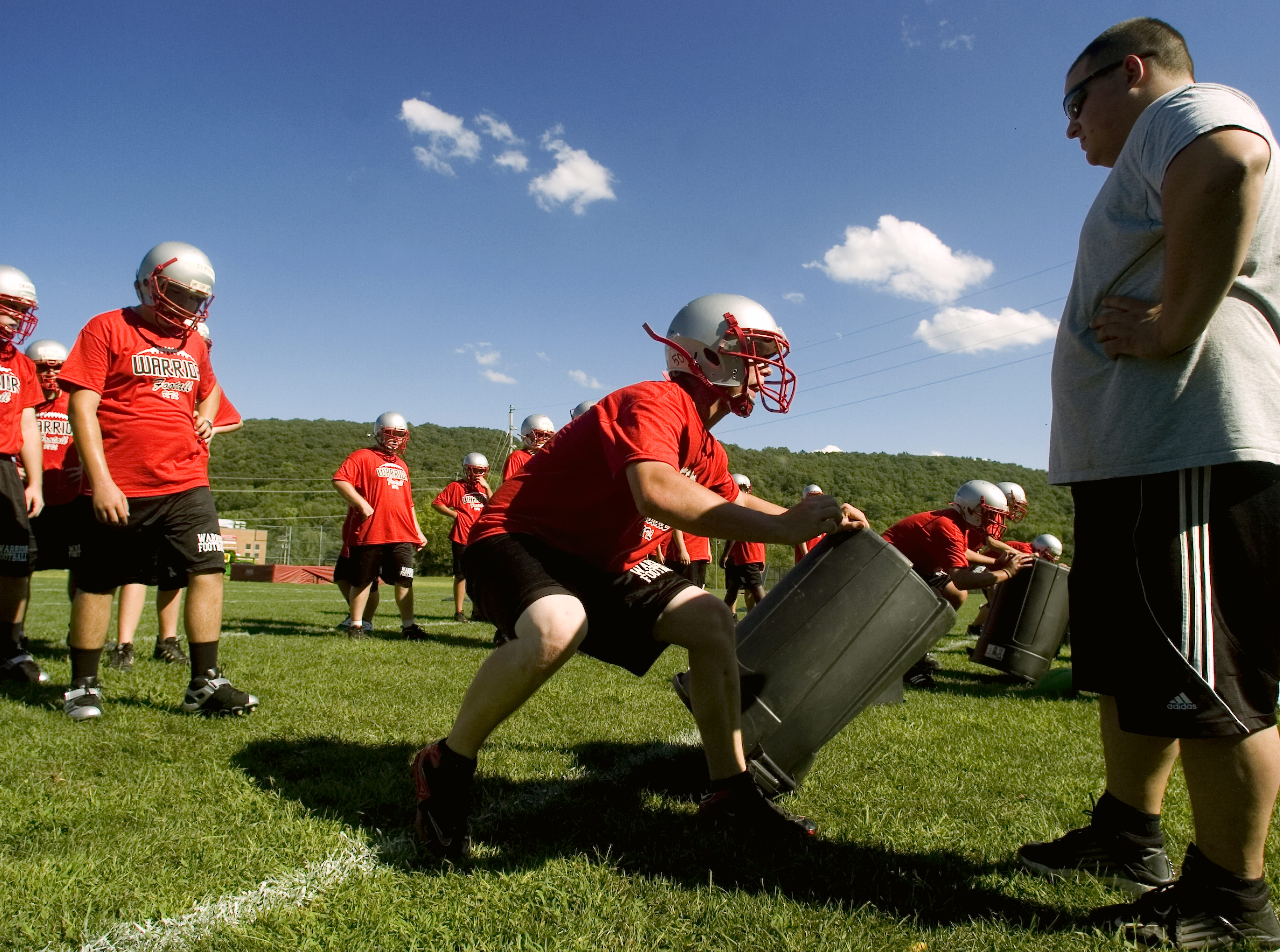 From 2010: Chenango Valley High School's Varsity and Junior Varsity teams began the season's first day of practice along with competing teams throughout the county on Monday.