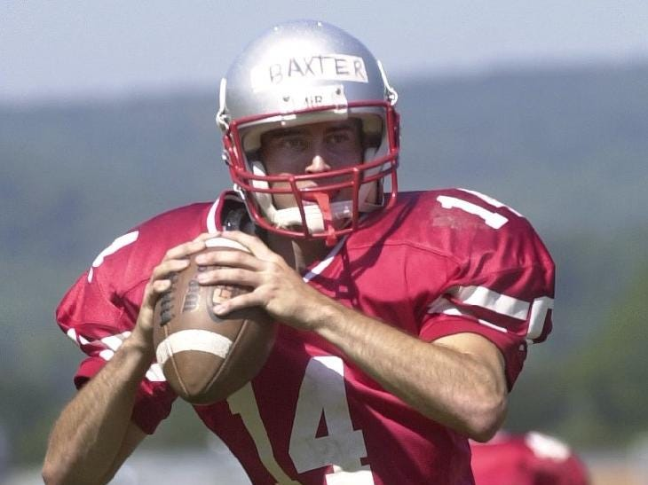 From 2004: Greg Baxter will be the starting quarter back for the Chenango Valley High School Warriors for the upcoming football season.