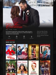 A sampling of the Christmas-themed titles on Netflix