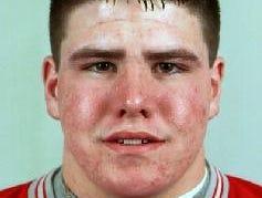 1999 ALL-METRO FOOTBALL TEAM, Matt McMahon, senior offense line, Chenango Valley