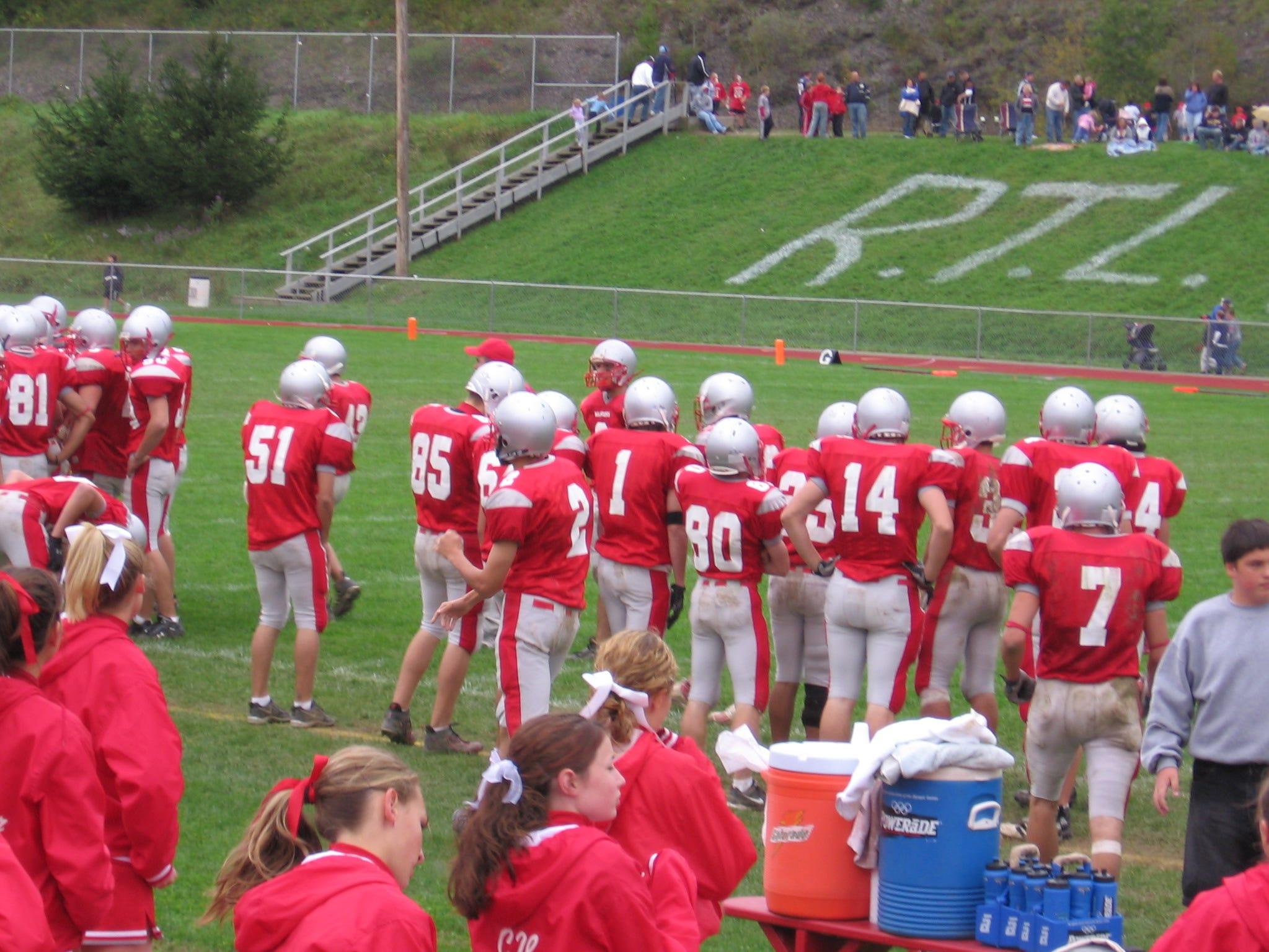 Chenango Forks/Chenango Valley High Schools football game