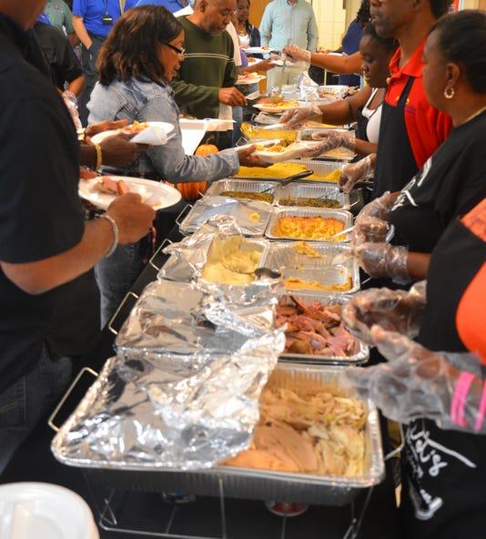 Miss Dot S Annual Thanksgiving Dinner