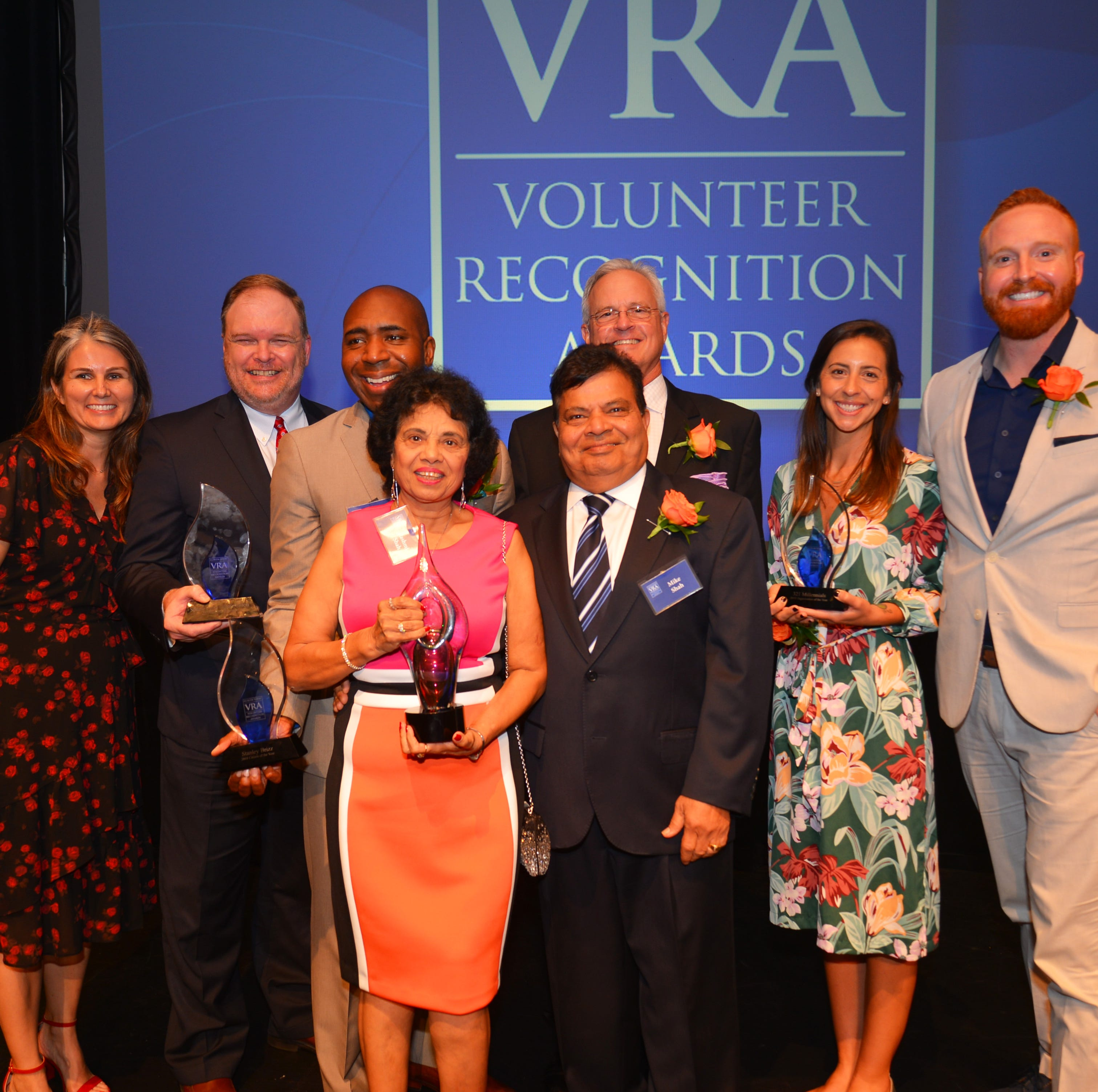 Volunteer Recognition Awards: 321 Millennials, SCCU, David Dugan and Stanley Brizz honored