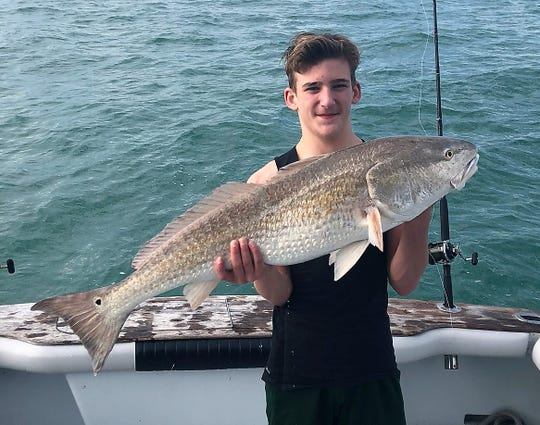 Oversized redfish, kingfish and cobia can all be caught in shallow nearshore waters when wind conditions allow, said Capt. Chris Cameron of Fired Up charters out of Blue Points Marina in Port Canaveral.