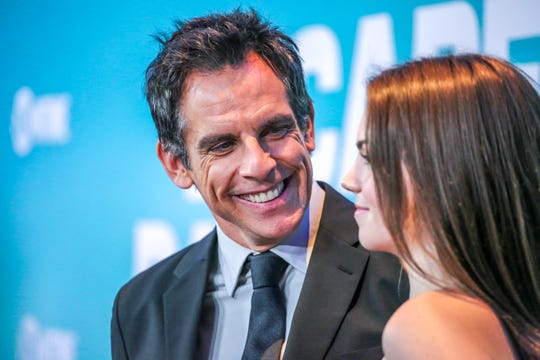 "NEW YORK - NOVEMBER 14: Ben Stiller and Alana O'Brien attend the premiere of Showtime's limited series ""Escape at Dannemora"" at Alice Tully Hall in Lincoln Center on November 14, 2018 in New York City."