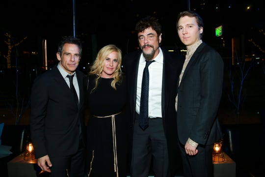 "NEW YORK - NOVEMBER 14: Ben Stiller, Patricia Arquette, Benicio Del Toro and Paul Dano attend the party following the premiere of Showtime's limited series ""Escape at Dannemora"" at Alice Tully Hall in Lincoln Center on November 14, 2018 in New York City."
