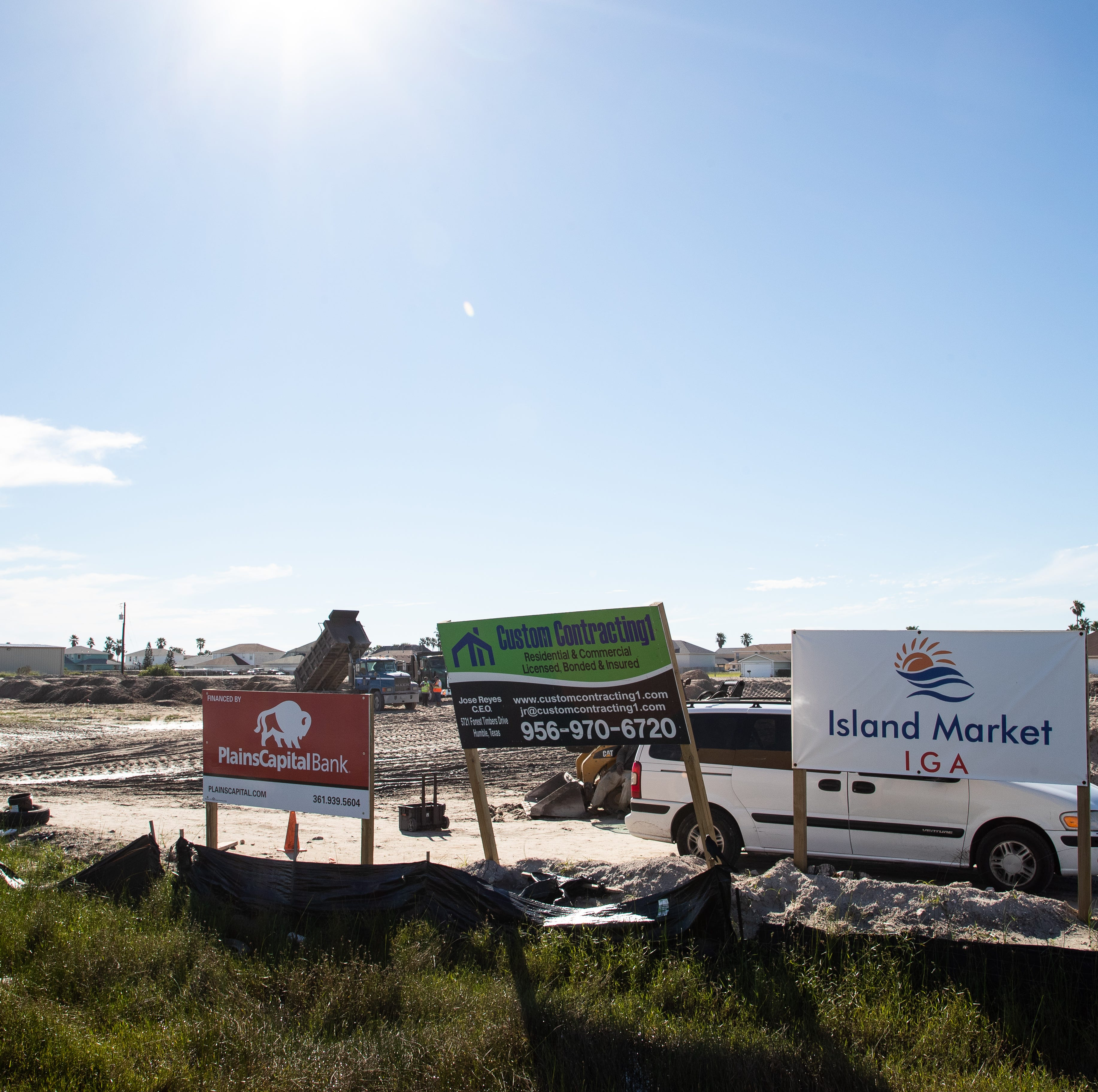 Countdown to a North Padre Island grocery store? It's coming, but not until next summer