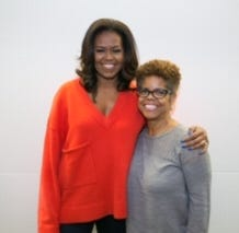 This Cincinnati woman's 'secret' White House visits seeded Michelle Obama's memoir
