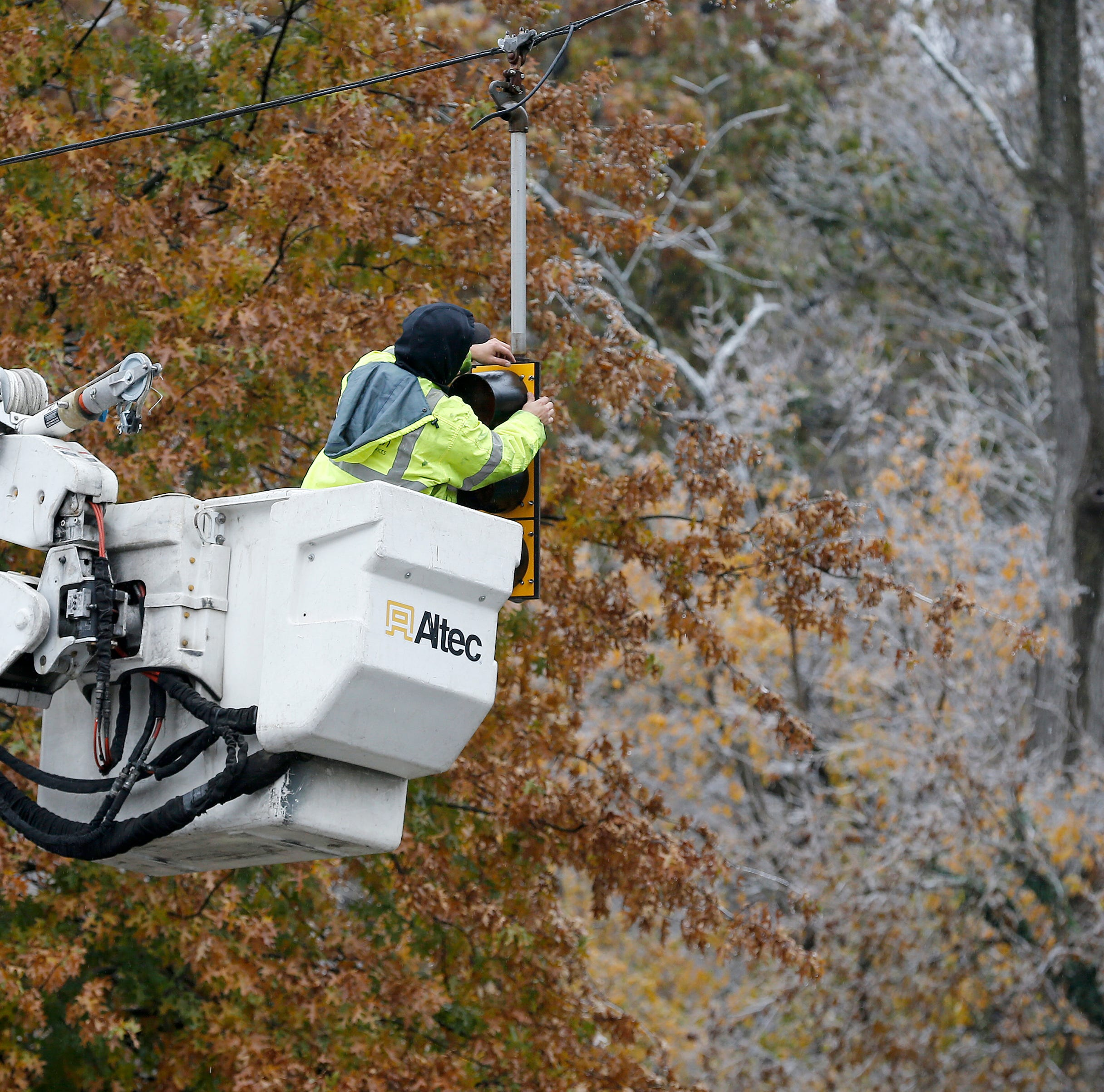 Some may be without power for days after ice storm