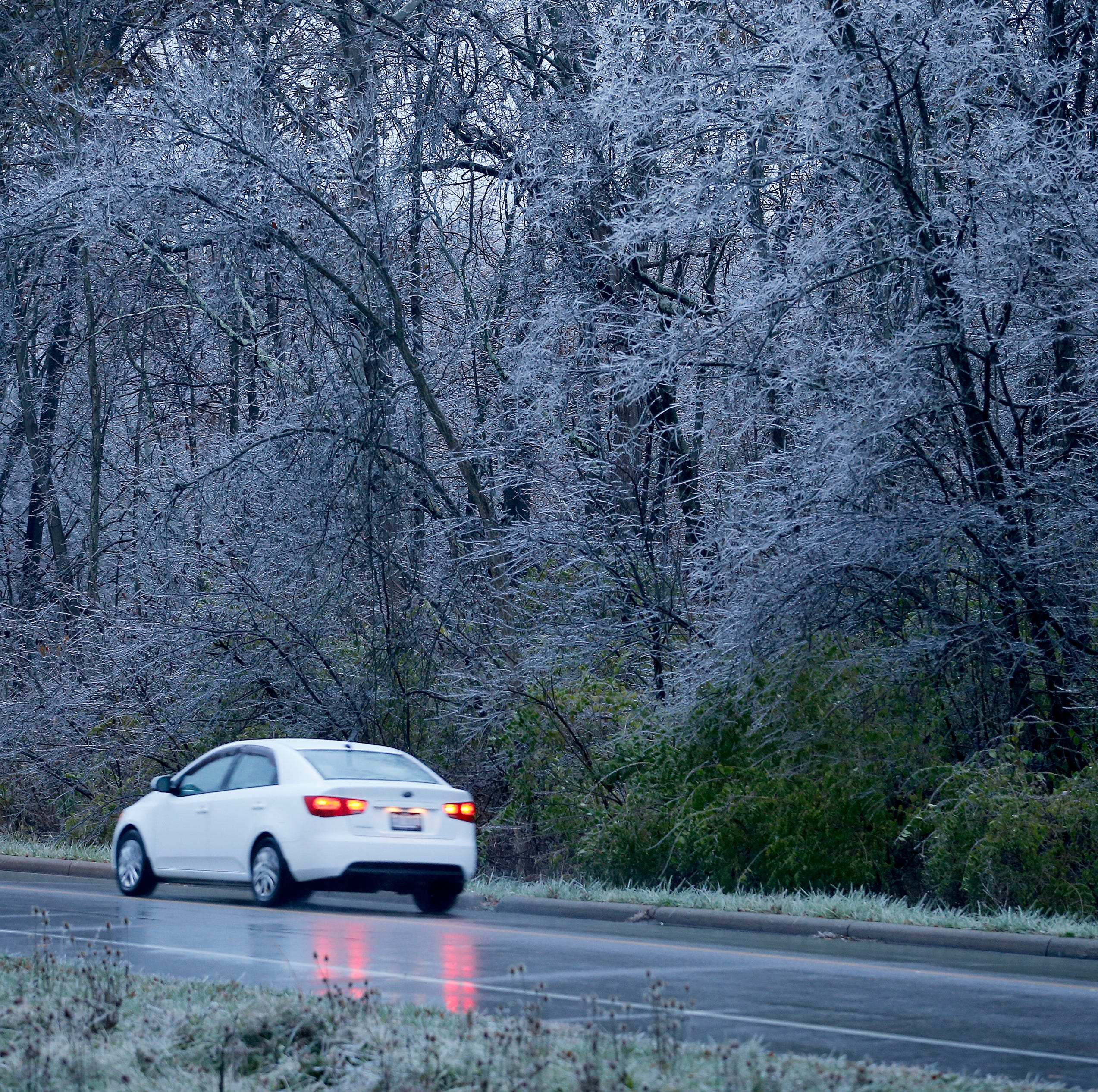 Ice storm: Nearly 50K in dark 12 hours plus after system swept across Cincinnati region
