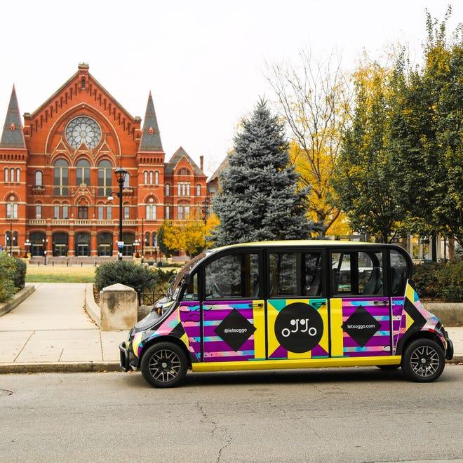 Oggo offers free rides in Cincinnati, Newport and Covington