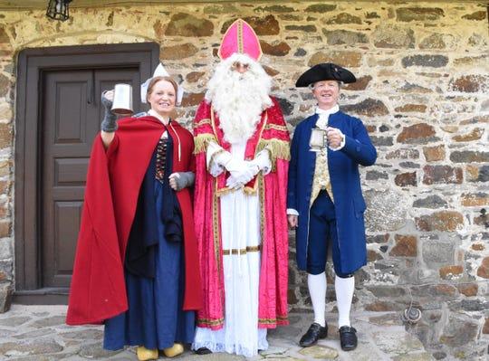 Dutch Sint-Nicolaas Day will honor the Dutch heritage of Bouman-Stickney Farmstead in Readington on Dec. 2.