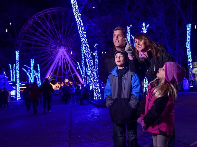 Six Flags Great Adventure offers families a chance to enjoy a illuminating holiday season with Holiday in the Park.
