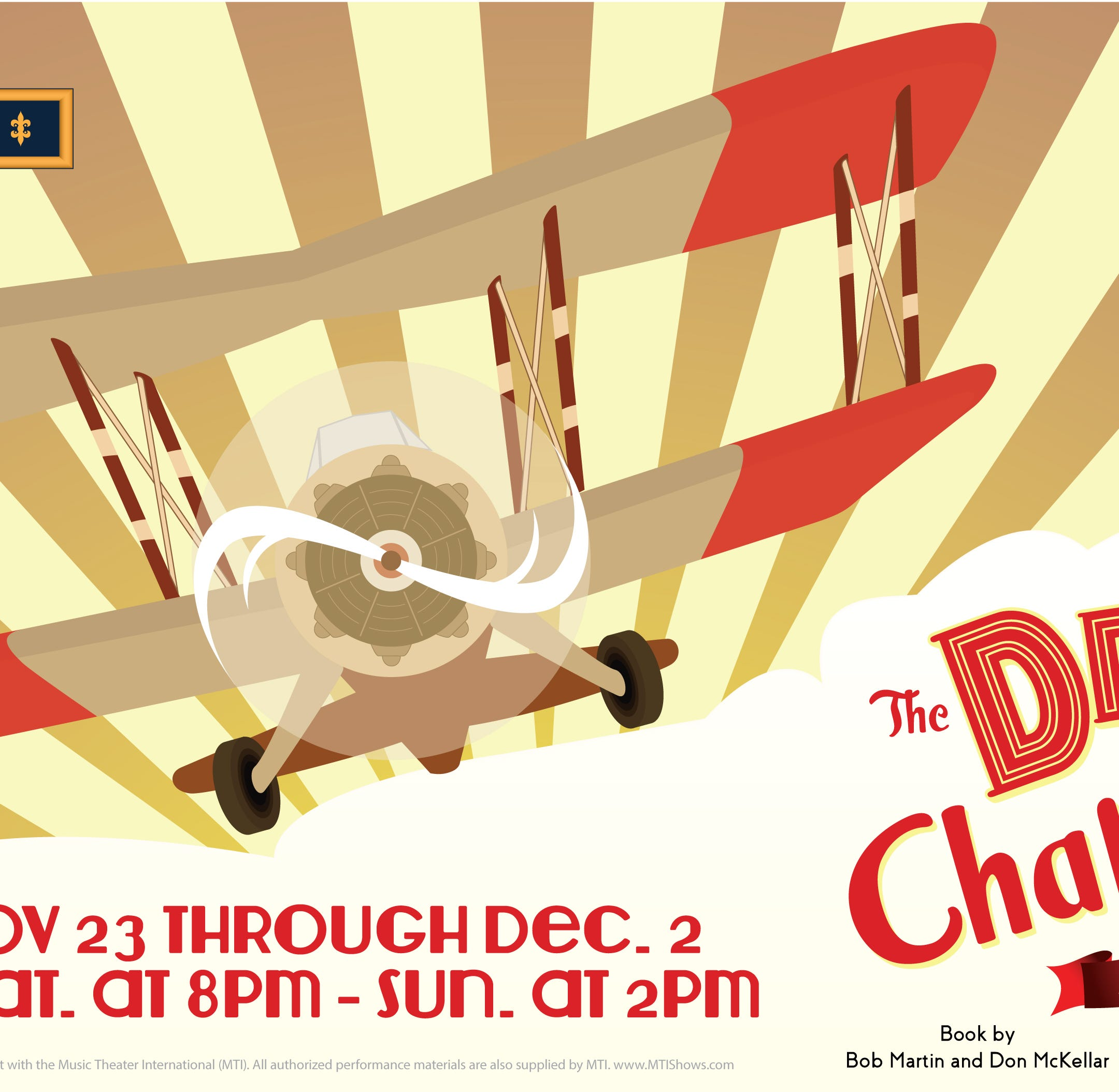 """The Drowsy Chaperone"" flies into the Brook Arts Center as benefit for Alternatives"