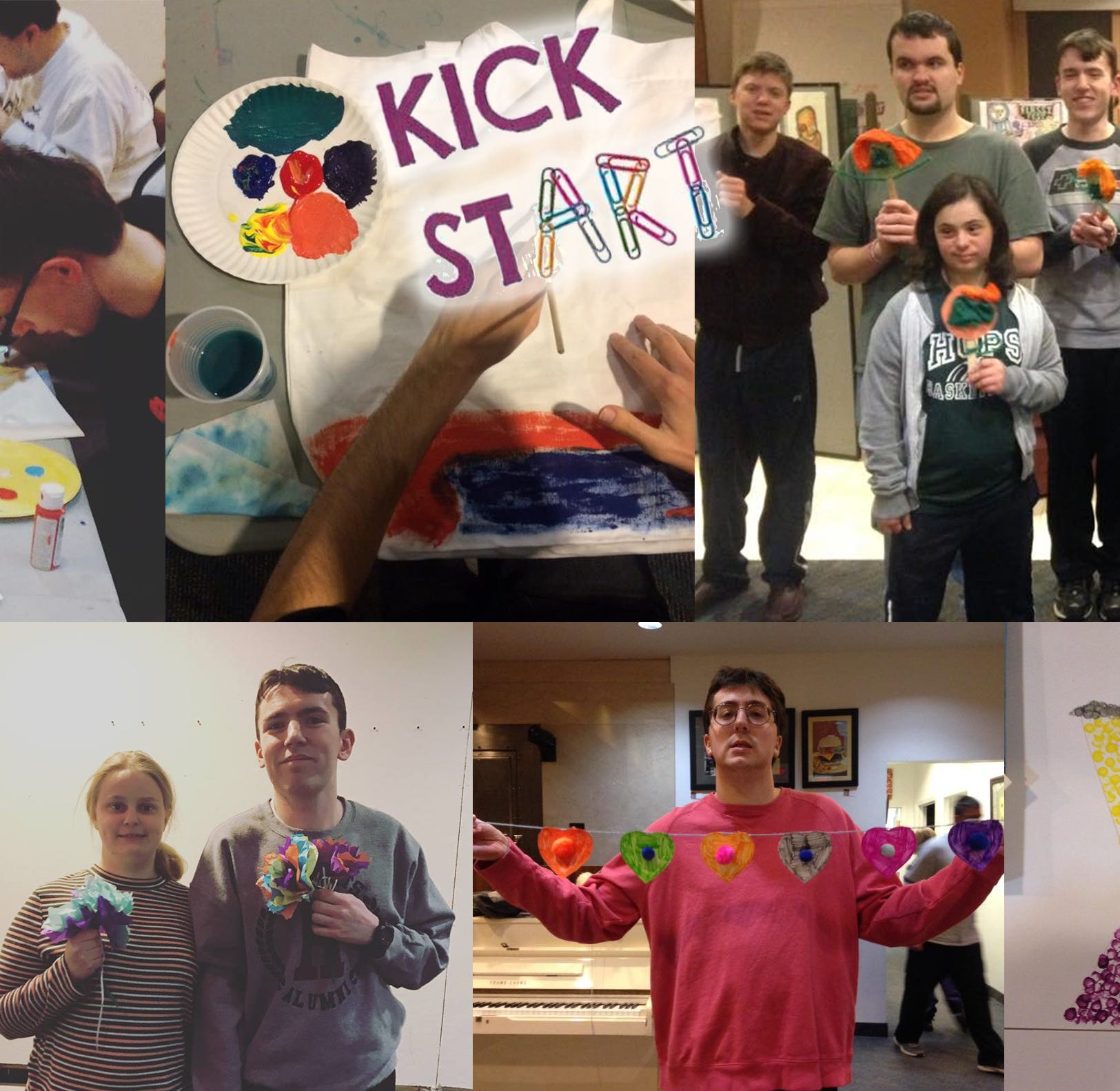 Flemington DIY Kick StART classes, helping the disabled, get boost from Chancy Memorial Foundation