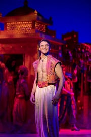 'Aladdin' will be performed at the Des Moines Civic Center from Nov. 28 through Dec. 9.