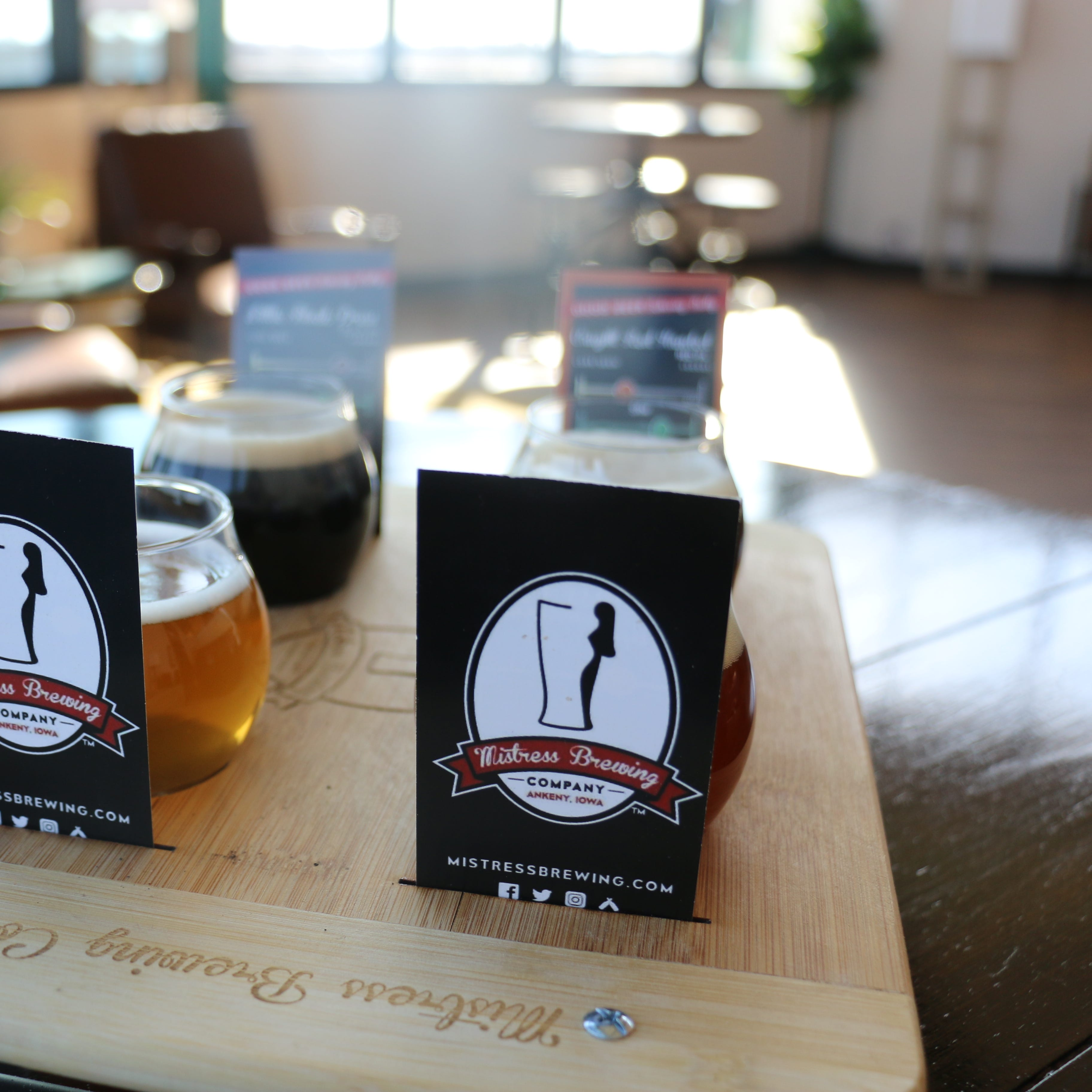 Take a look inside Ankeny's newest craft beer taproom: Mistress Brewing