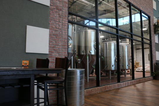 The taproom at Mistress Brewing Company in Ankeny, Iowa, photographed on Nov. 14, 2018.