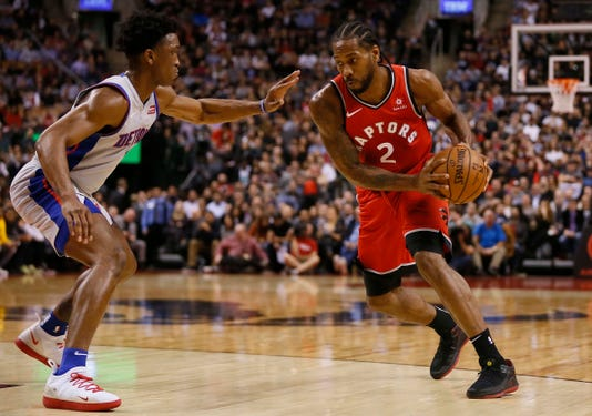 Nba Detroit Pistons At Toronto Raptors