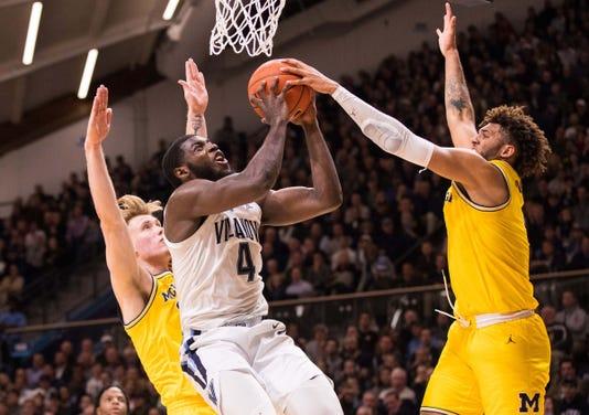 Ncaa Basketball Michigan At Villanova