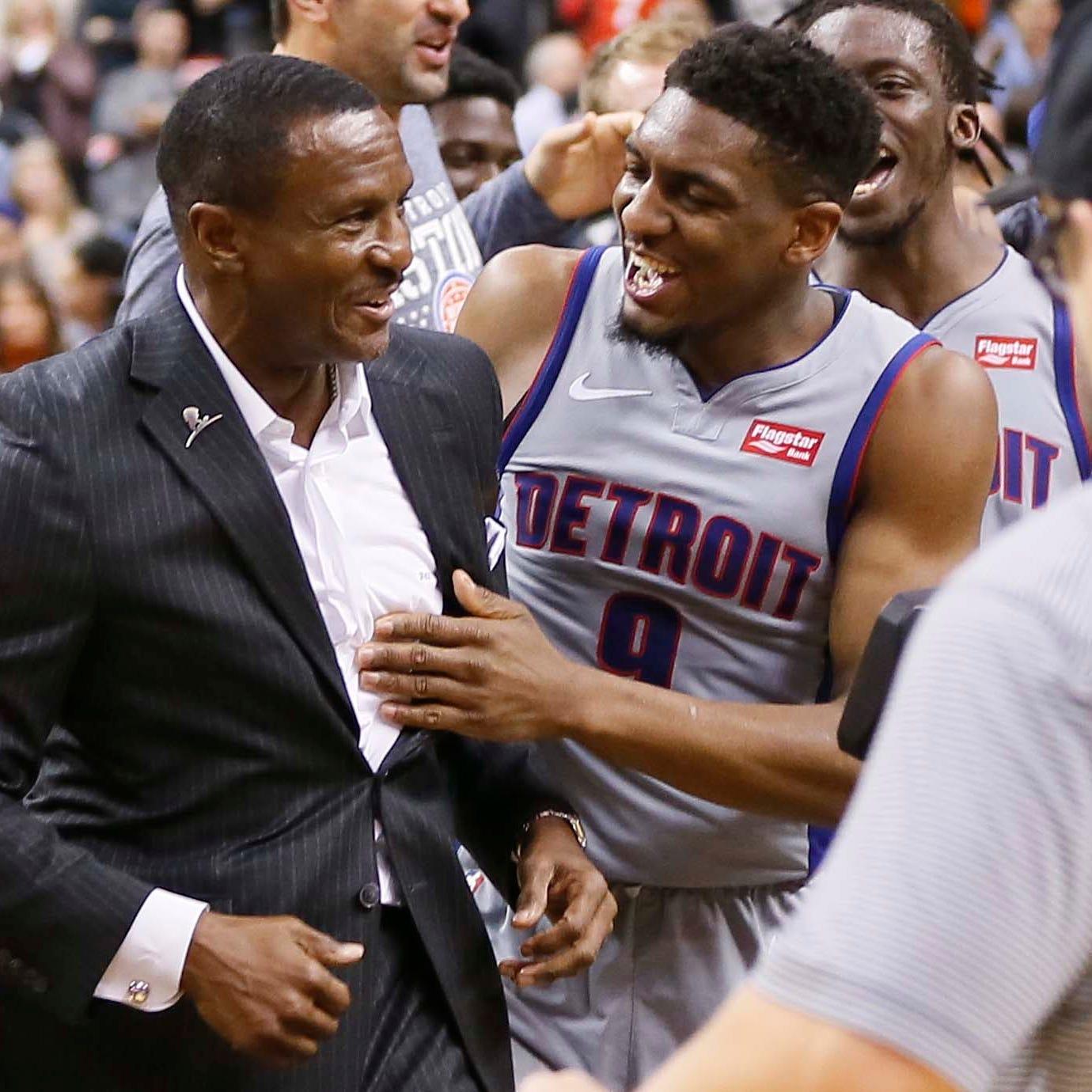 Detroit Pistons coach Dwane Casey's calm in return to Toronto sold Blake Griffin
