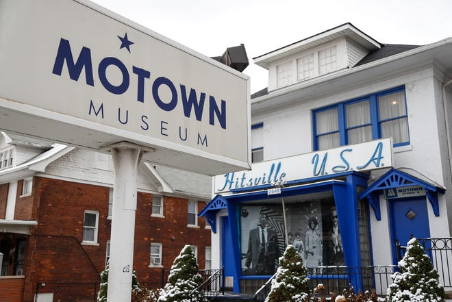 Motown Museum in Detroit, Tuesday, Nov. 13, 2018.